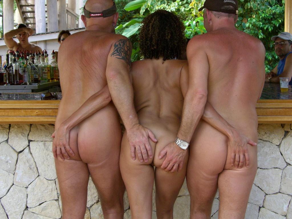 Nudist swingers par foton