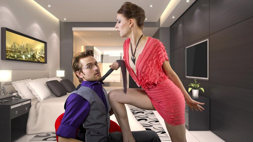 når en mand elsker en kvinde sexlegetøj